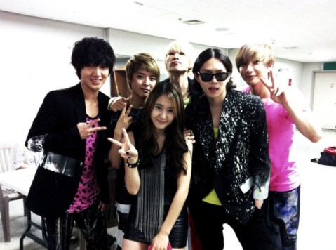 Super Junior and f(x)
