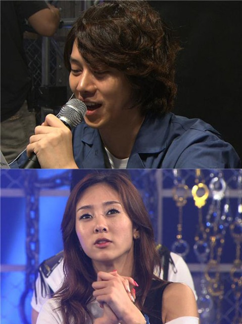 Heechul and G.NA