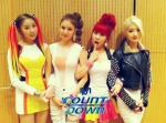 Stellar M! Countdown backstage