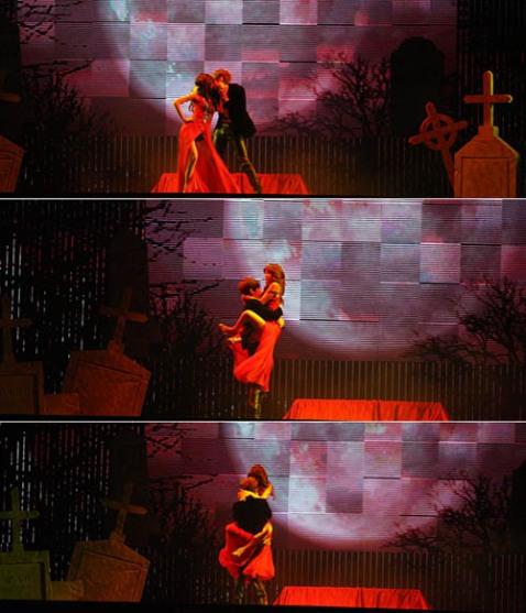 HyunA & Hyunseung Kissing