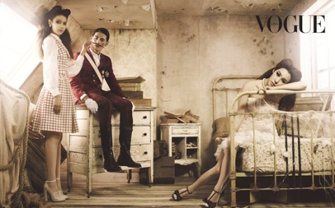 Sooyoung, Tiffany SNSD_Vogue Korea