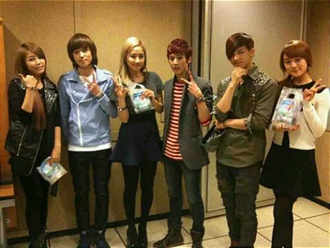 Teen Top & Wonder Girls