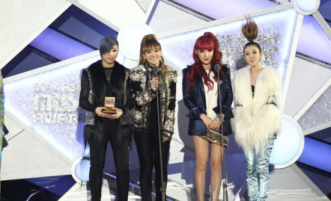 2NE1 win Best Vocal Peformance at MAMA 2011