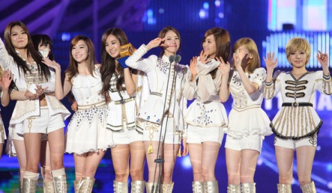 snsd win mama award 2011