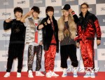 Red Carpet SBS Gayo Daejun 2011_B1A4