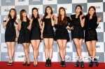 Red Carpet SBS Gayo Daejun 2011_A Pink