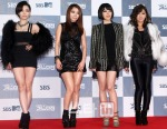 Red Carpet SBS Gayo Daejun 2011_Brown Eyed Girls